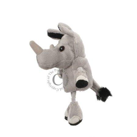 The Puppet Company vingerpopje neushoorn