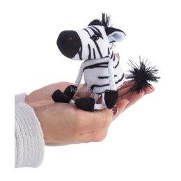 The Puppet Company zebra vingerpopje