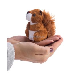 The Puppet Company eekhoorn rood vingerpopje