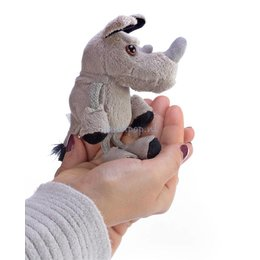 The Puppet Company neushoorn vingerpopje
