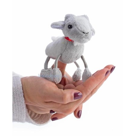 The Puppet Company vingerpopje geit