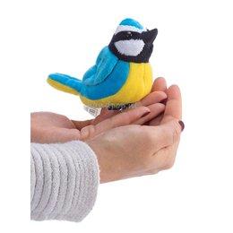 The Puppet Company koolmees vingerpopje