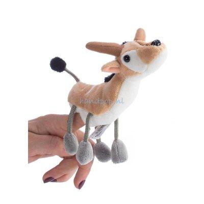 The Puppet Company antilope vingerpopje