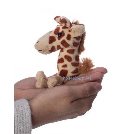 The Puppet Company vingerpopje giraffe