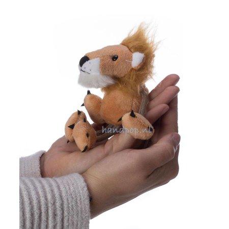 The Puppet Company vingerpopje leeuw