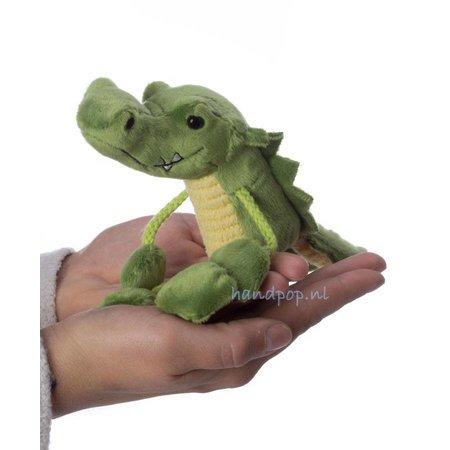 The Puppet Company vingerpopje krokodil