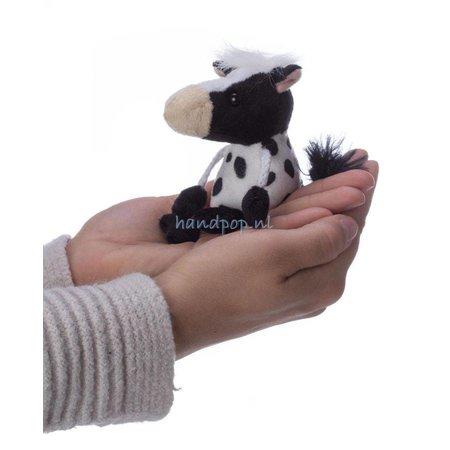 The Puppet Company vingerpopje koe