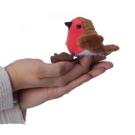 The Puppet Company vingerpopje roodborstje