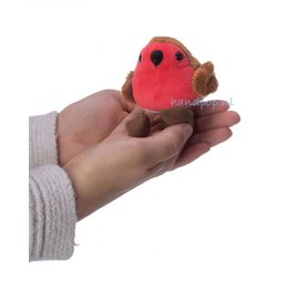 The Puppet Company roodborstje vingerpopje