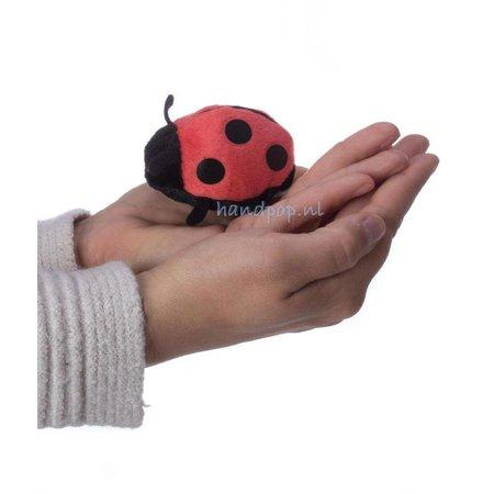 The Puppet Company vingerpopje lieveheersbeestje