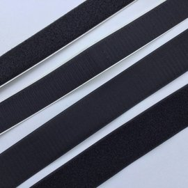 "Alfatex Hook-and-loop, black (""velcro"")"