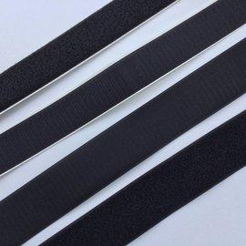 Alfatex Klittenband zwart