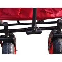 Opvouwbare bolderwagen luchtbanden