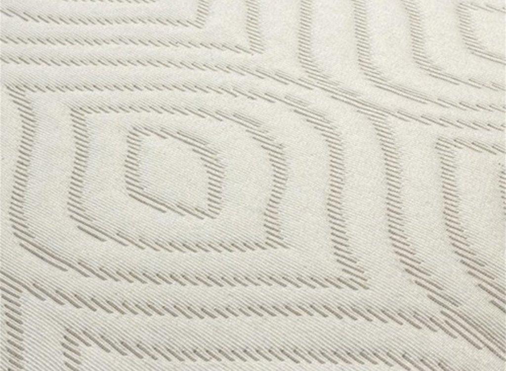 Fancy Embroidery Bedsprei Britney - Creme