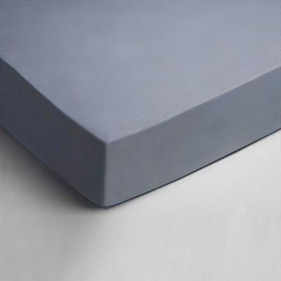 Dubbel Jersey Hoeslaken - Blauw