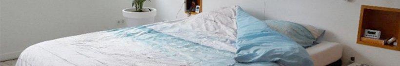 Duidelijke wasvoorschriften - Pearl Sand Dekbedovertrek