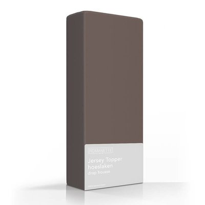 Jersey Topper - Stretch - Taupe