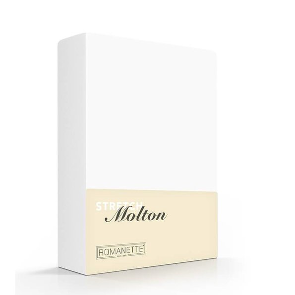 Romanette Luxe Molton Hoeslaken Stretch