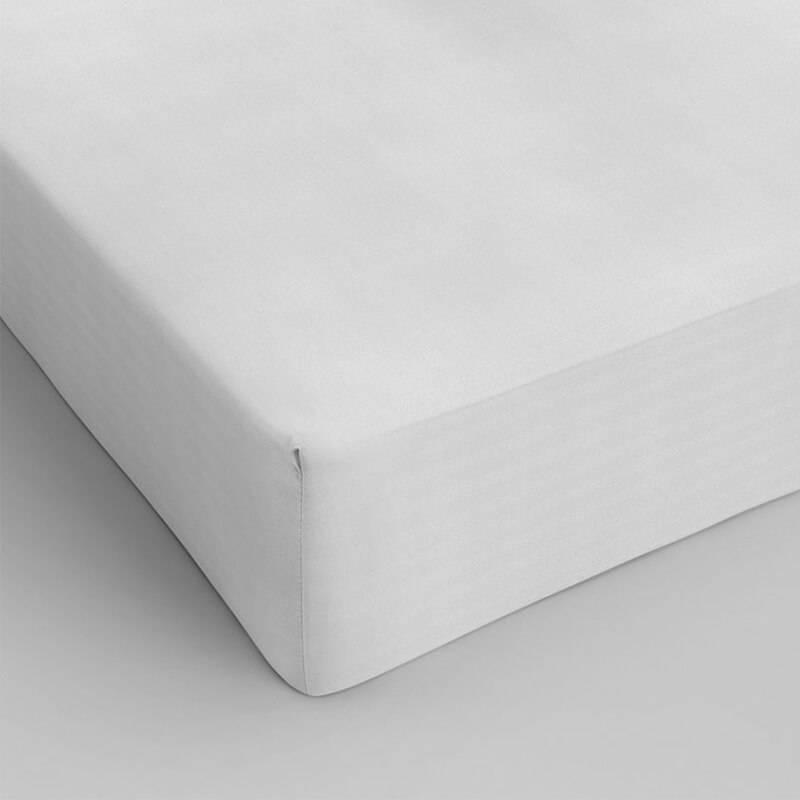 DreamHouse Bedding Verkoelend Hoeslaken Katoen - Wit 90 x 200