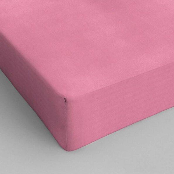 DreamHouse Bedding Verkoelend Hoeslaken Katoen - Roze