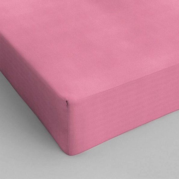 DreamHouse Bedding Verkoelende Hoeslaken Katoen - Roze