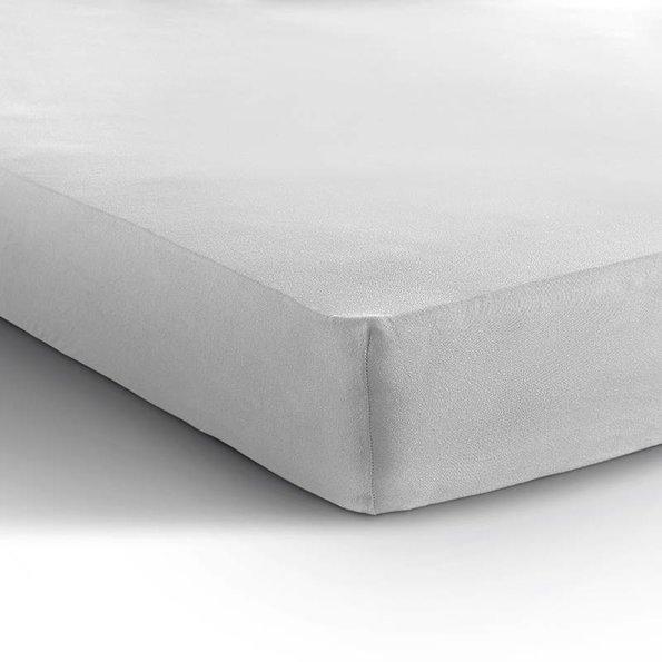 DreamHouse Bedding Jersey XL Hoeslaken - Wit