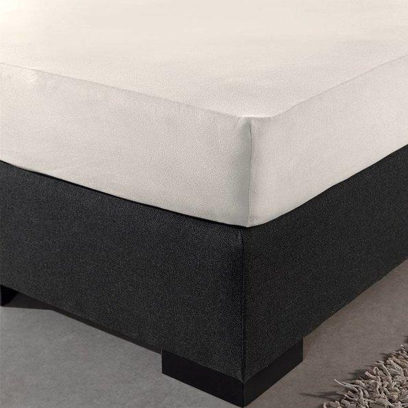 DreamHouse Bedding Jersey XL Hoeslaken - Creme