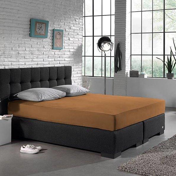DreamHouse Bedding Jersey XL Hoeslaken - Taupe