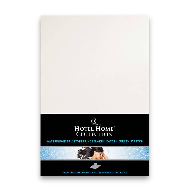 Hotel Home Matrasbeschermer Stretch Splittopper - Waterdicht HHC 180 x 200/210