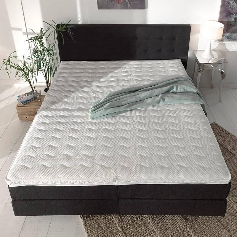 Productafbeelding voor 'DreamHouse Bedding Ergonomisch Topmatras Koudschuim 90 x 200'