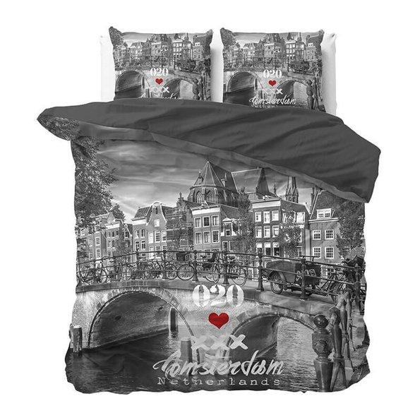 DreamHouse Bedding Amsterdam 020 - Antraciet