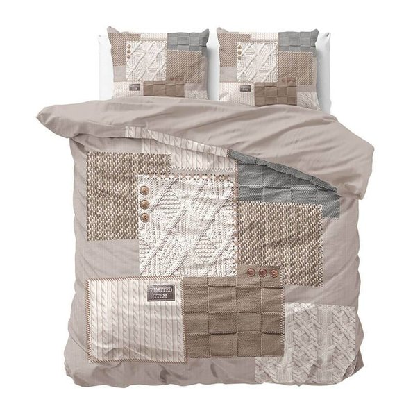 DreamHouse Bedding Knitted Home - Taupe