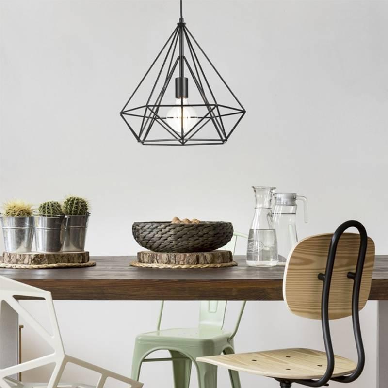 Uppsala - Lamp - Zwart