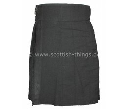 Kilt black solid