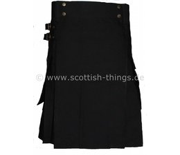 Black Kilt -black solid