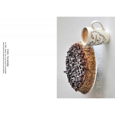 TSS-Nijkerk Bonheur (wenskaart met bovenvouw, witte enveloppe)