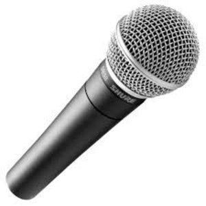 Shure SM 58 dynamische zangmicrofoon