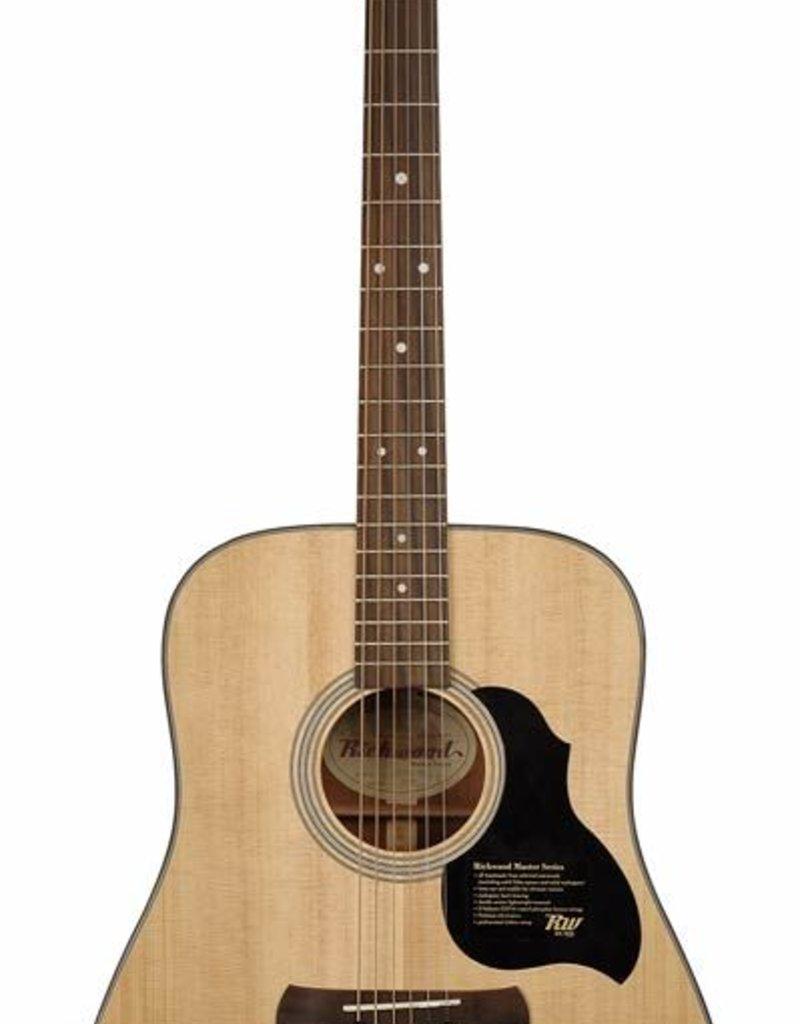 Richwood D-40 Master Series handgemaakte dreadnought gitaar