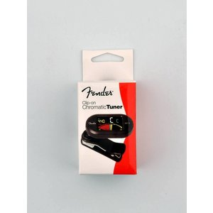 Fender FCT-12 chromatic clip tuner