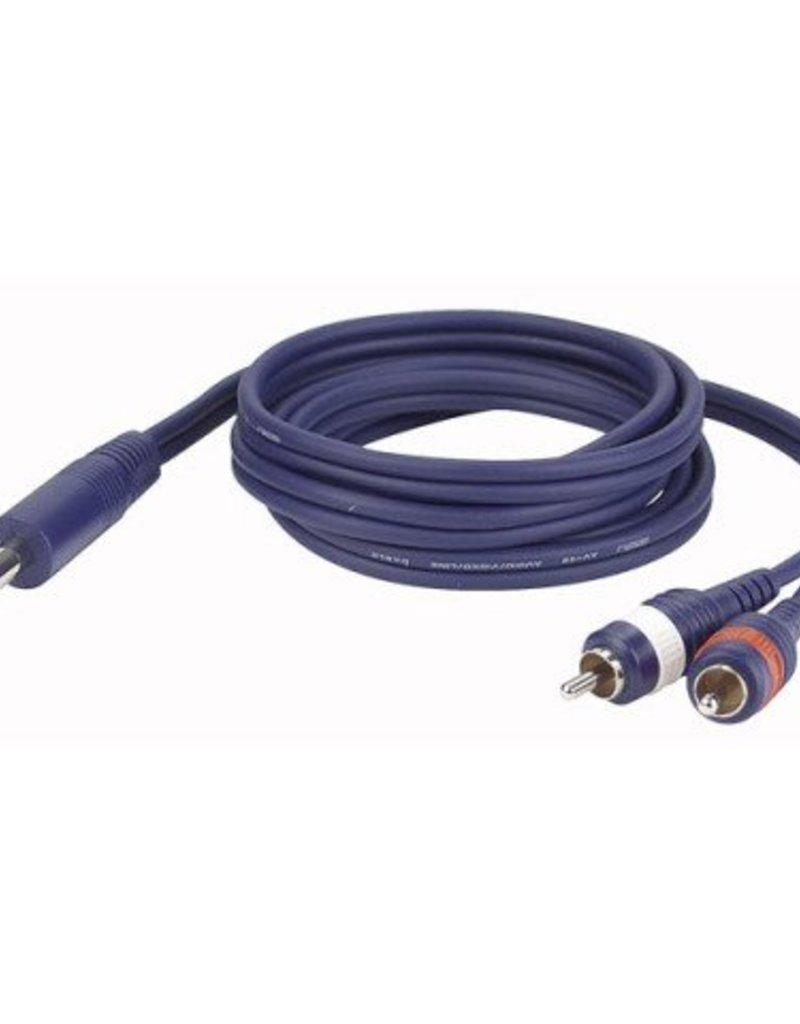 Dap Audio FL35 - Stereo Jack (6.3mm) > 2x Tulp L/R