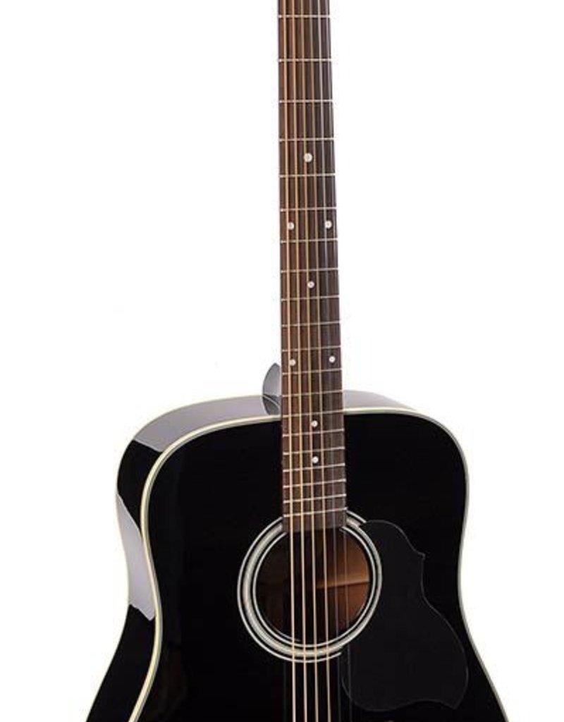Richwood D-40-BK Master Series handgemaakte dreadnought gitaar