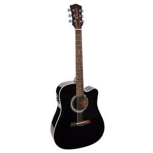 Richwood D-40-CEBK Master Series handgemaakte dreadnought gitaar