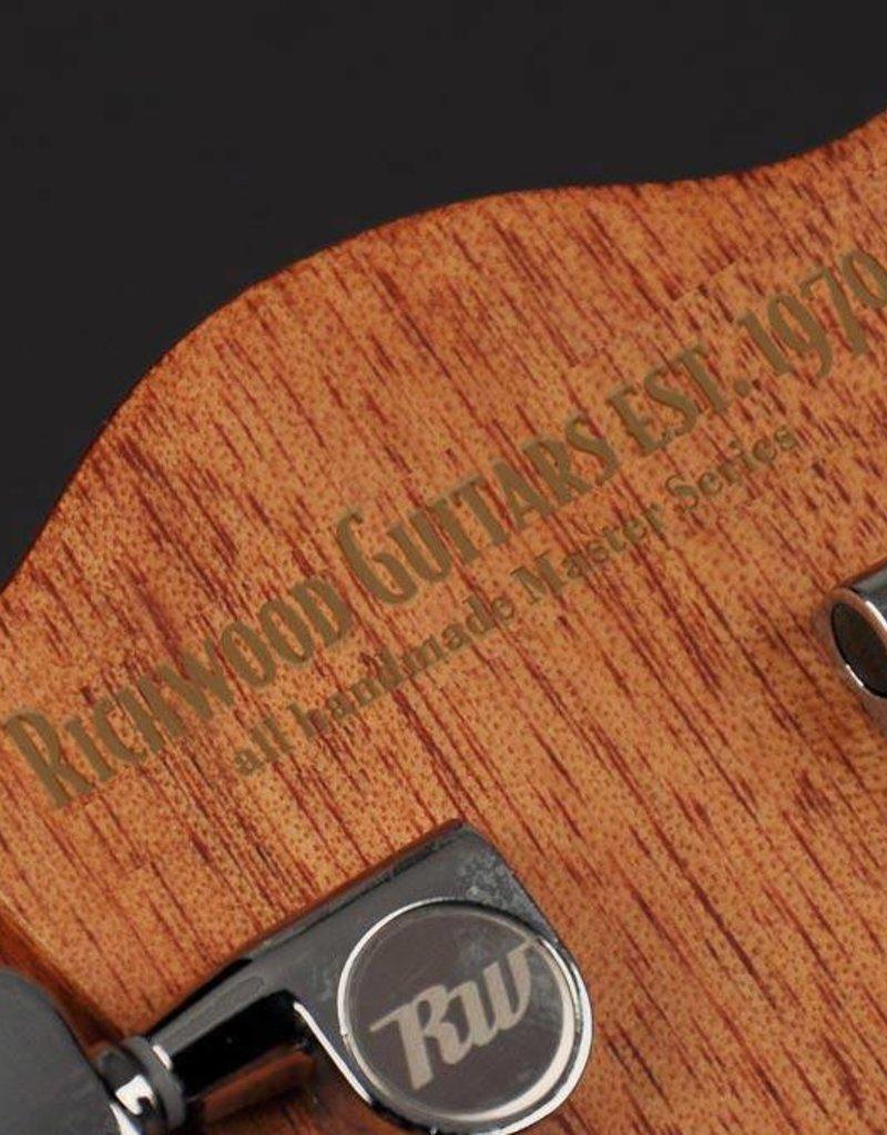 Richwood D-60 Master Series handmade dreadnought guitar