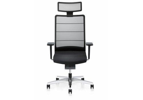 Interstuhl Airpad fauteuil de bureau noir avec appui-tête