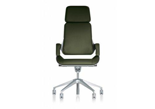 Interstuhl Silver fauteuil de direction avec appui-tête