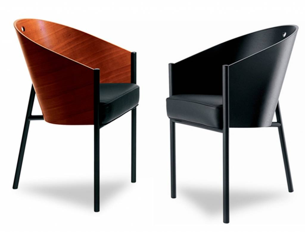 driade chaise costes en noir ou acajou brand new office. Black Bedroom Furniture Sets. Home Design Ideas