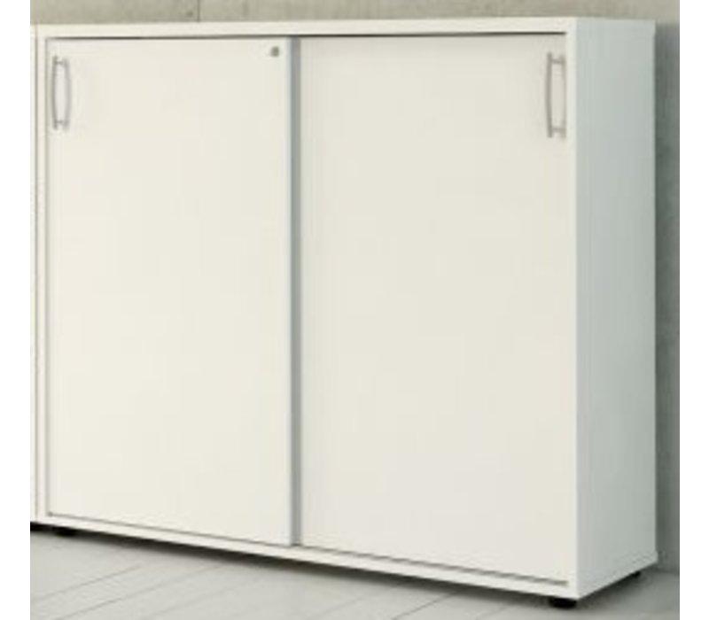 basic armoire moyen avec porte coulissante brand new office. Black Bedroom Furniture Sets. Home Design Ideas