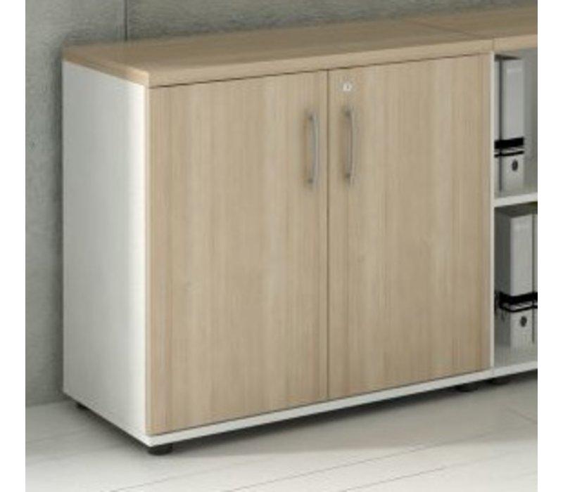 basic armoire basse 77 cm brand new office. Black Bedroom Furniture Sets. Home Design Ideas