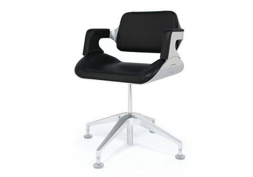 Interstuhl Silver chaise de confèrence basse