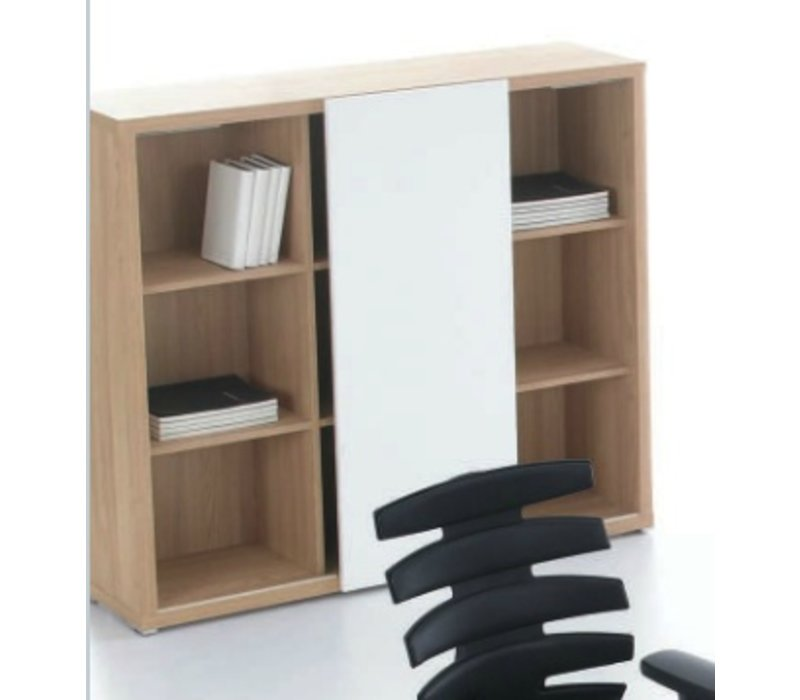 mito meuble de rangement avec porte coulissante brand new office. Black Bedroom Furniture Sets. Home Design Ideas